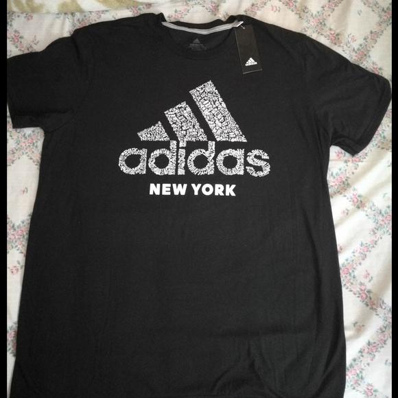 adidas t shirt new york